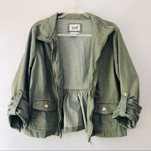 Light Forrest Green Dress Jacket. NWOT